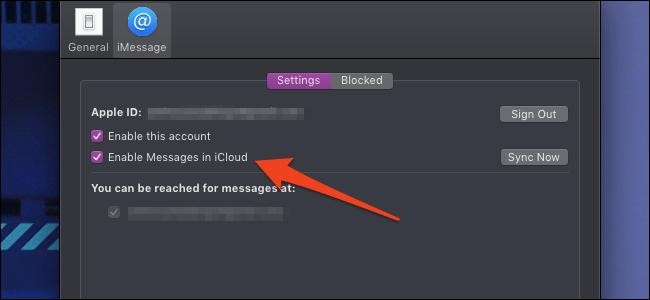 بخش iMessage یا پیام ها در iCloud,روشتک,raveshtech