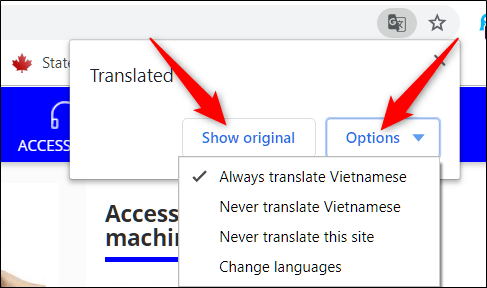 چگونه مترجم گوگل را در مرورگر Chrome خامشو یا روشن کنیم؟,روشتک,raveshtech
