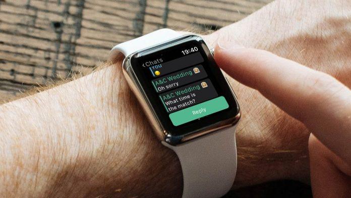 روش استفاده از WhatsApp در اپل واچ سری 4, استفاده از WhatsApp در اپل واچ سری 4, استفاده از WhatsApp در اپل واچ, استفاده از واتساپ در اپل واچ, نصب واتساپ در اپل واچ, نصب WhatsApp در اپل واچ, نصب واتساپ در Apple Watch, واتساپ اپل واچ, برنامه +IM, روشتک,Raveshtech, آموزش فناوری, ترفند های اپل واچ, آموزش اپل واچ, اپل واچ, Apple Watch