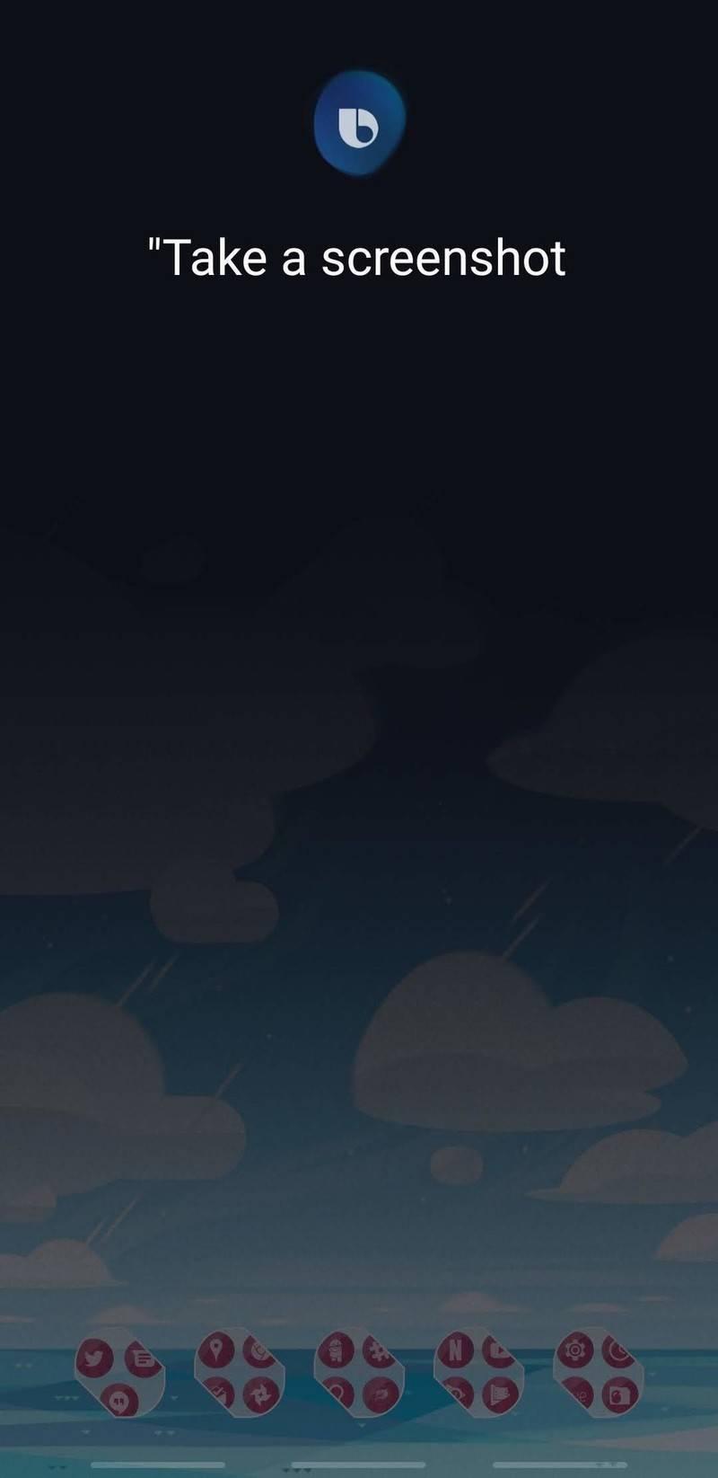 روش گرفتن اسکرین شات با استفاده از Bixby Voice,روشتک,روشتک