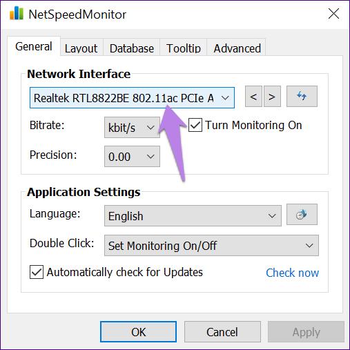 در صورت کار نکردن برنامه NETSPEEDMONITOR چه باید بکنیم؟,روشتک,raveshtech