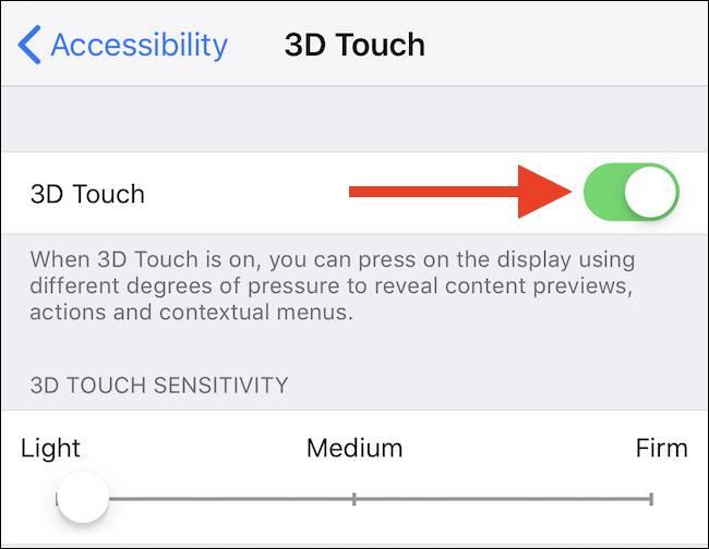 فعال یا غیرفعال کردن 3D Touch در آیفون, ،فعال کردن لمس سه بعدی در آیفون, فعال کردن 3D Touch در آیفون, خاموش کردن لمس سه بعدی در آیفون, غیرفعال کردن 3D Touch, اموزش آیفون, آیفون 3D Touch, ترفندهای آیفون, روشتک, raveshtech, آیفون