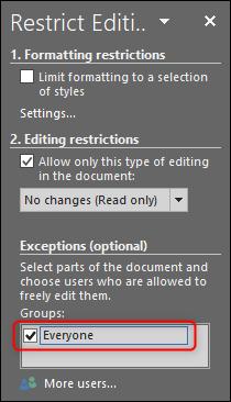 چگونگی قفل کردن Text Box در برنامه Word,روشتک,raveshtech