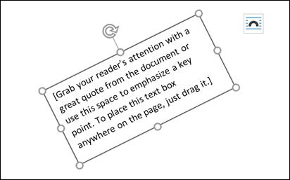 پیکان چرخشی را کلیک کرده و آن را نگه دارید، سپس با کشاند یا drag، باکش را به هر سوی که می خواهید بپرخانید.,روشتک,raveshtech