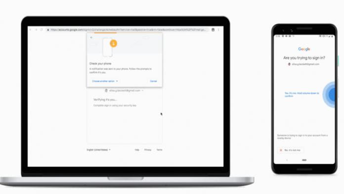 ویژگی کلید امنیتی برای تلفن های اندروید توسط گوگل