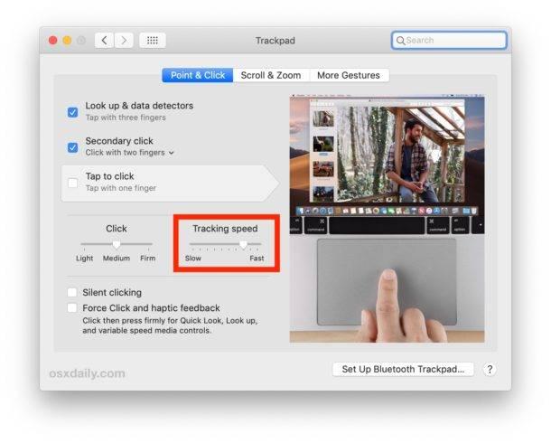 چگونه می توانیم سرعت موس و Trackpad را در MacOS تغییر دهیم؟,روشتک,raveshtech