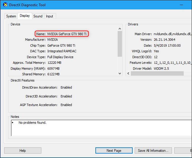 دیدن مشخصات کارت گرافیک در ویندوز 10, مشخصات کارت گرافیک, دیدن مشخصات GPU در ویندوز 10, مشخصات GPU, روشتک, raveshtech, کاربرد کارت گرافیک, مشخصات کارت گرافیک درر ویندوز 10, مشخصات کارت گرافیک در ویندوز 7, ترفندهای ویندوز, آموزش ویندوز. ویندوز, Windows, ویندوز کارت گرافیک, کارت گرافیک,GPU