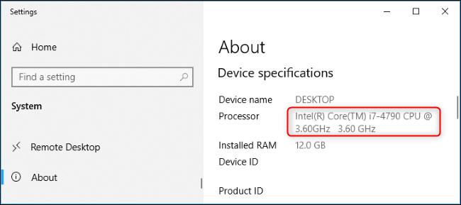 چگونه مشخصات CPU کامپیوتر خود را در ویندوز 10 پیدا کنیم؟,روشتک,raveshtech