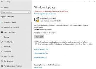 آپدیت نسخه KB4494441 ویندوز 10 ممکن است دوباره نصب شود