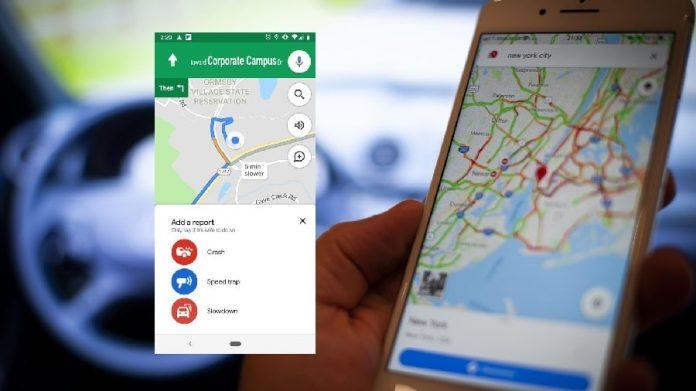 Google Maps به شما امکان نمایش سرعت رانندگی را می دهد,گوگل مپ