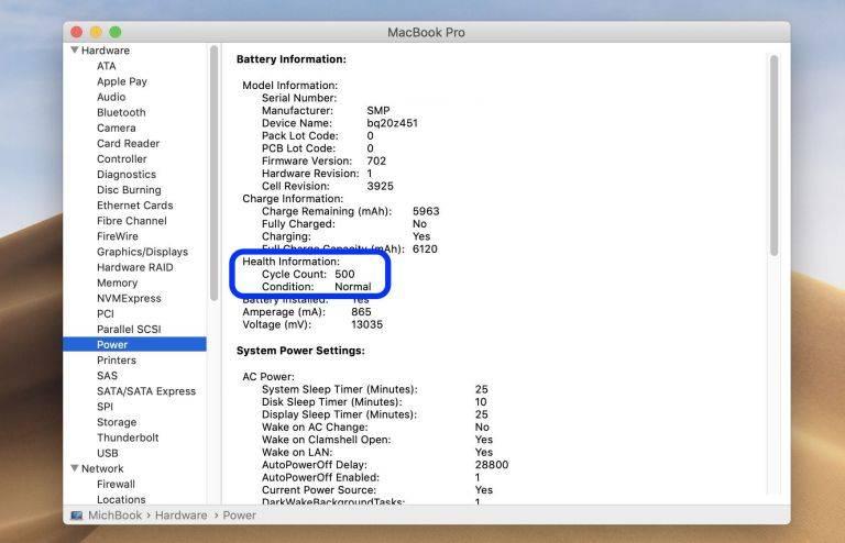 روش بررسی عمر باتری مک بوک,عمر باتری مک بوک, عمر باتری MacBook, چرخه شارژ مک بوک, باتری مک بوک, باتری MacBook, روشتک, raveshtech, ترفندهای مک, آموزش مک, مک بوک, MacBook