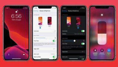 استفاده از Dark Mode آیفون iOS 13, فعال کردن تم تاریک آیفون, تم تاریک آیفون, حالت تیره آیفون, تم تاریک iPad, dark mode آیفون, تم تاریک iOS 13, ر.شتک,raveshtech, تزفندهای آیفون