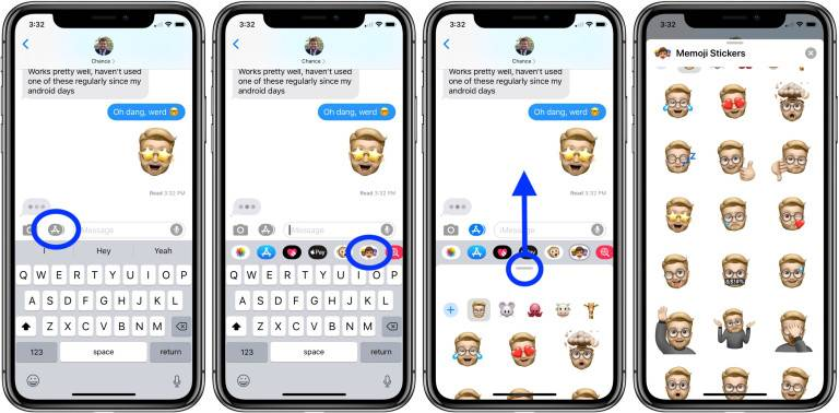 روش استفاده از مموجی آیفون iOS 13, استفاده از میموجی در آیفون, آیفون میموجی, iOS 13 میموجی، روشتک,raveshtech, آیفون Memoji, آیپد میموجی, آیفون, iOS 13, ترفندهای آیفون