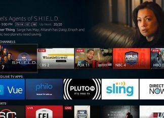 پخش زنده تلویزیون در دستگاه های Fire TV