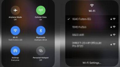 روش اتصال سریع به شبکه Wi-Fi در iOS 13