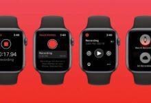 روش ضبط صدا در اپل واچ watchOS 6, پر کردن صدا در اپل واچ, اپل واچ ضبط صدا, روشتک,raveshtech, ترفندهای اپل واچ, ضبط صدا در Voice Memos اپل واچ, ضبط صدا در AppleWatch