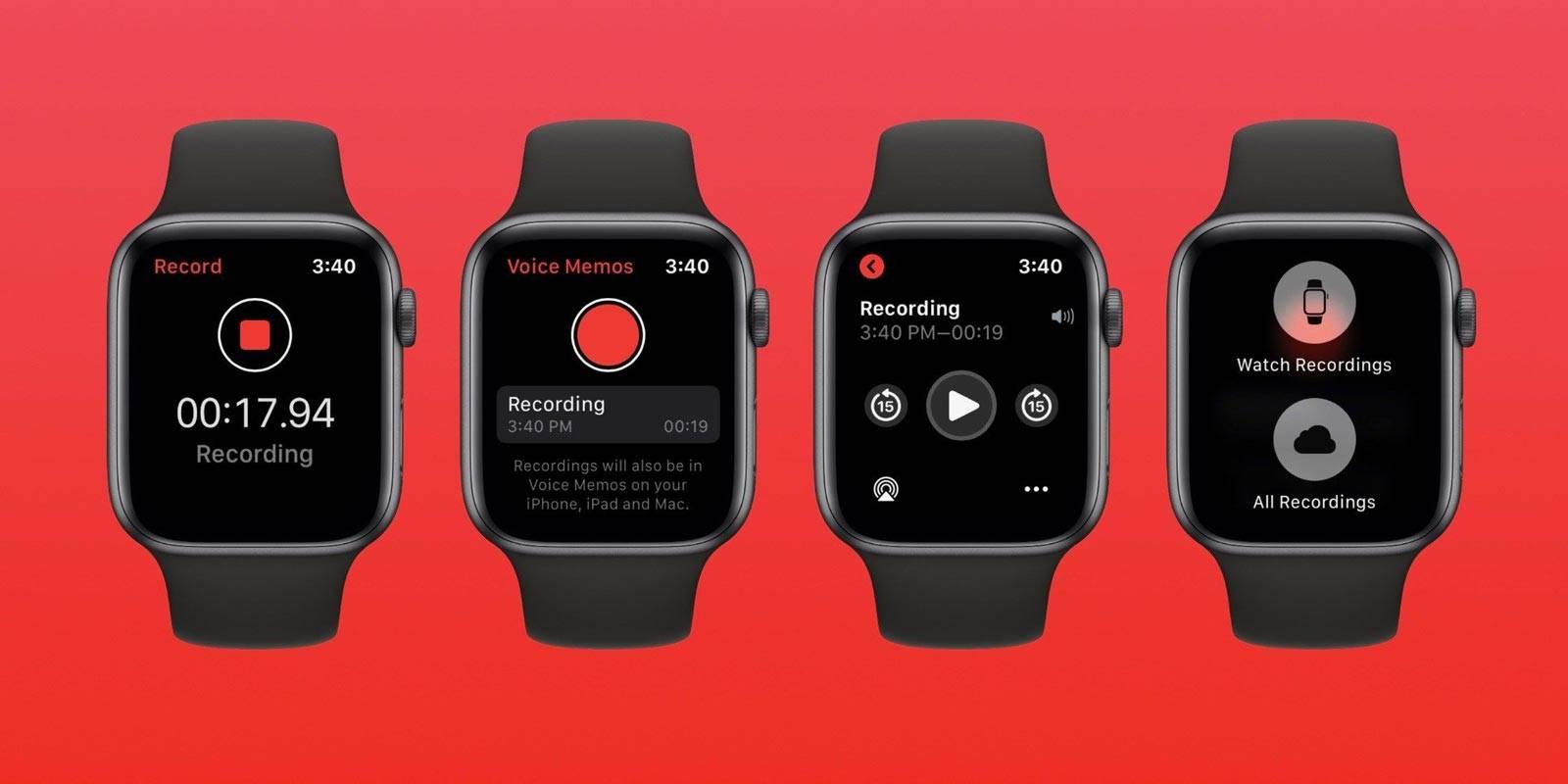 Photo of روش ضبط صدا در اپل واچ watchOS 6