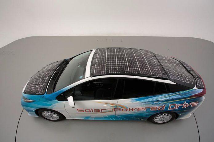 تست خودروی برقی تویوتا, خودروی برقی, خودروی خورشیدی, خودروی تویوتا, ماشین برقی, روشتک, raveshtech, اخبار فناوری, اخبار تکنولوژی