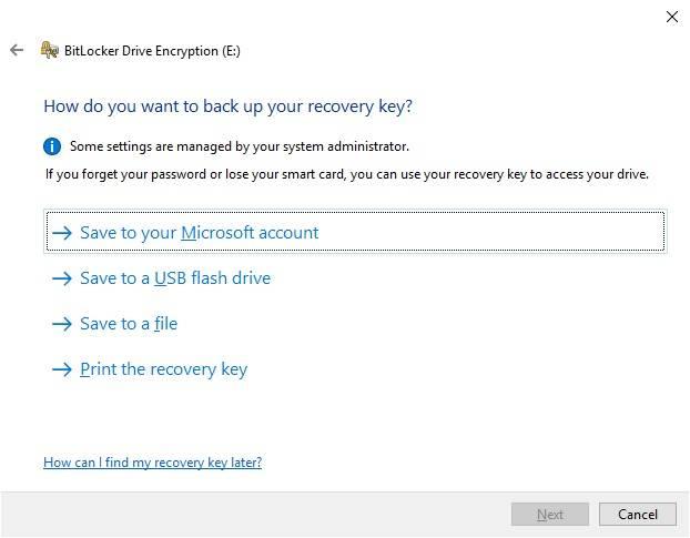 روش رمز گذاری بر روی درایو ها در ویندوز 10,پسورد گذاری روی فلش,رمز گذاری روی درایو,فعال سازی سرویس Bitlocker encryption,مایکروسافت