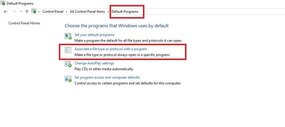 مشکل باز شدن تمامی فایل ها با یک برنامه در ویندوز,ویروس باز شدن تمامی برنامه ها,مشکل باز شدن تمامی فایل ها با یک نرم افزار در ویندوز,ویندوز 10