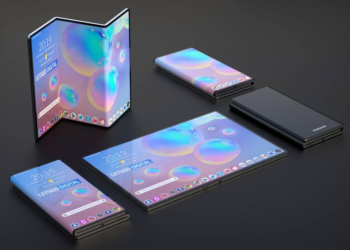 گوشی هوشمند Z-Fold سامسونگ, گوشی z fold, گوشی z fold سامسونگ , روشتک,raveshtech, اخبار فناوری, اخبار تکنولوژی