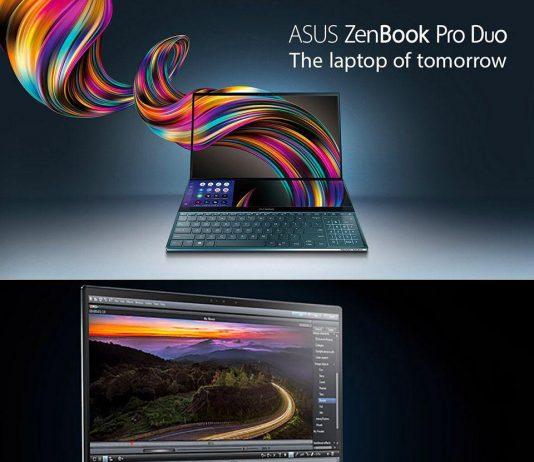 ASUS ZenBook Pro Duo لپ تاپی با نمایشگر دوگانه,ASUS ZenBook Pro Duo, لپ تاپ ZenBook Pro Duo, روشتک,raveshtech, اخبار فناوری, اخبار تکنولوژی