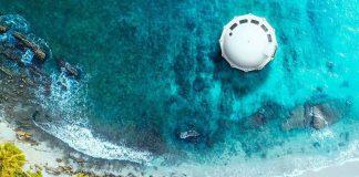آنتنیا هتلی شناور در دریا
