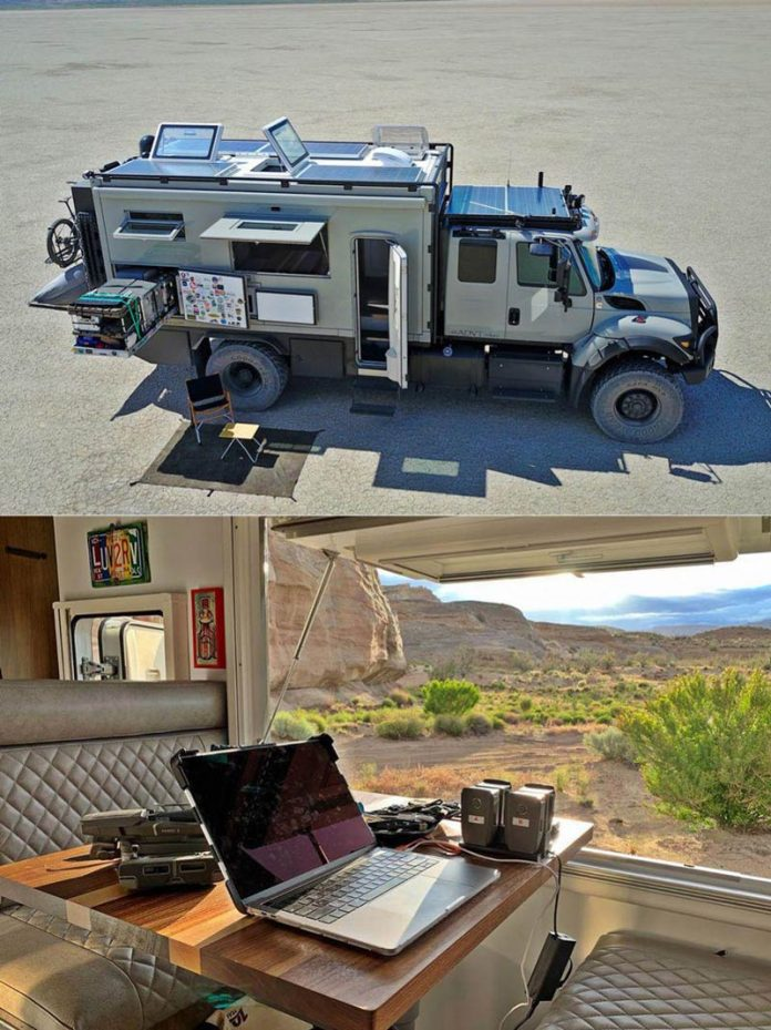 GVX خانه ای بر روی چرخ, Global Expedition Vehicles 'Safari Extreme, روشتک, raveshtech, اخبار فناوری, اخبار تکنولوژی