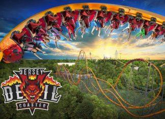 ترن هوایی جهان Jersey Devil, پارک Six Flags Great Adventure, روشتک,raveshtech, اخبار فناوری, اخبار تکنولوژی, ترن هوایی
