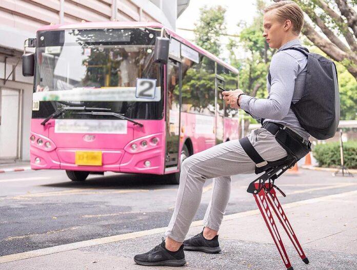 LEX، صندلی پوشیدنی بیونیک