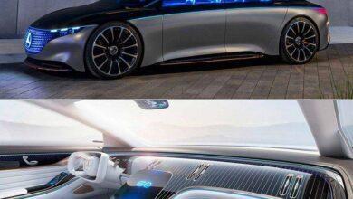 رونمایی از مرسدس بنز Vision EQS, مرسدس بنز Vision EQS, نمایشگاه خودروی فرانکفورت 2019, مرسدس بنز, خودروی برقی, روشتک,raveshtech, اخبار فناوری, اخبار تکنولوژی, تازه های خودرو, اخبار خودرو