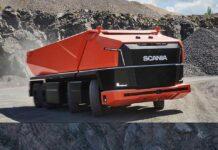 کامیون مفهومی اسکانیا AXL بدون کابین راننده