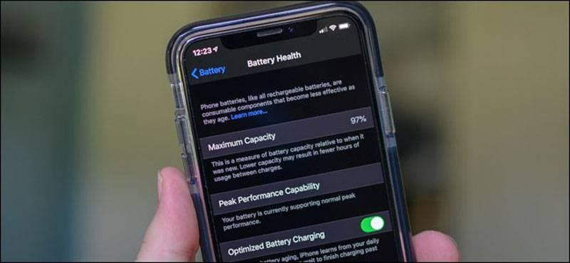 Photo of فعال کردن بهینه سازی شارژ باتری در آیفون