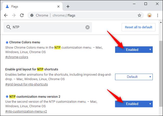 فعال کردن ویژگی Customization گوگل کروم