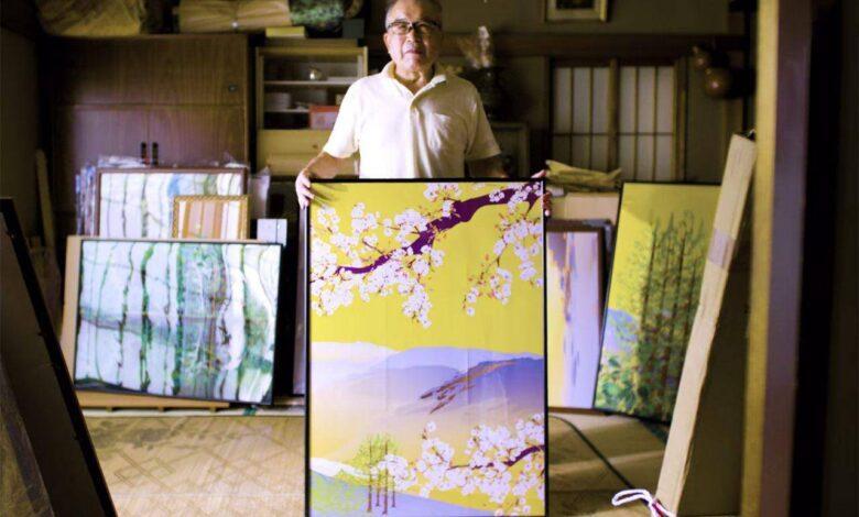 استفاده از اکسل برای کشیدن نقاشی, کشیدن نقاشی با اکسل, پیرمرد ژاپنی و آفرینش هنری با اکسل, روشتک,raveshtech, اخبار فناوری, اخبار تکنولوژی, اخباری هنری, تاره های هنر