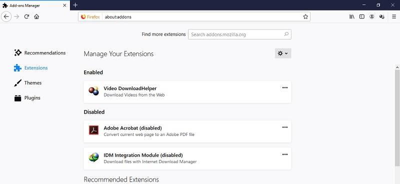 Photo of روش غیر فعال سازی افزونه های مرورگر موزیلا فایرفاکس
