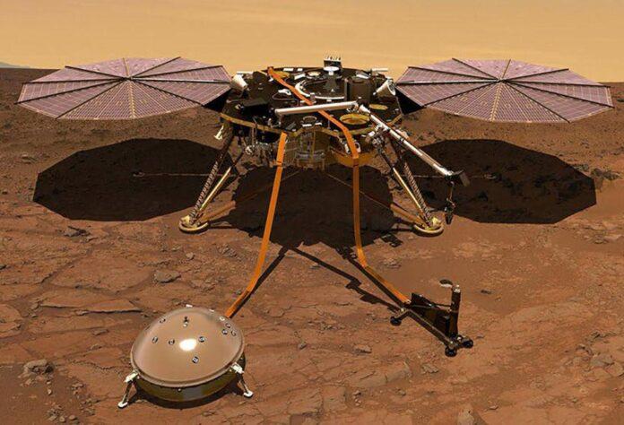 شناسایی پالس های مرموز در مریخ, پالس های مرموز مریخ, روشتک,raveshtech, اخبار فناوری, اخبار تکنولوژی, اخبار فضا, کاوشگر این سایت, Mars Insight