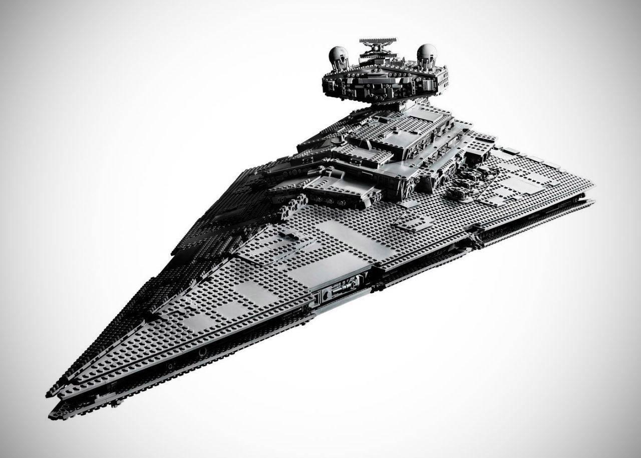 Photo of لگوی 4784 قطعه ای Star Destroyer جنگ ستارگان