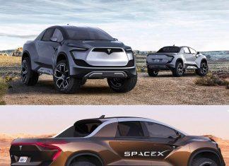 تصاویری از پیکاپ تراک تسلا مدل SpaceX, پیکاپ تراک تسلا, روشتک,raveshtech, اخبار فناوری, اخبار تکنولوژی, اخبار خودرو