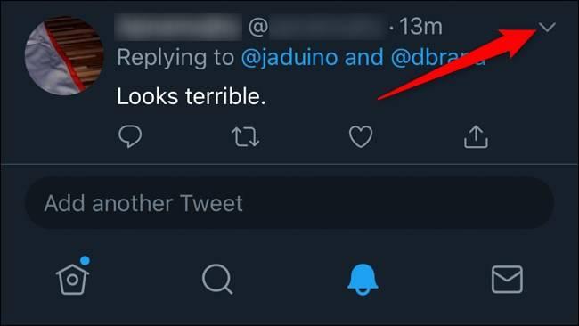 روش پنهان کردن پاسخ های توییت در Twitter