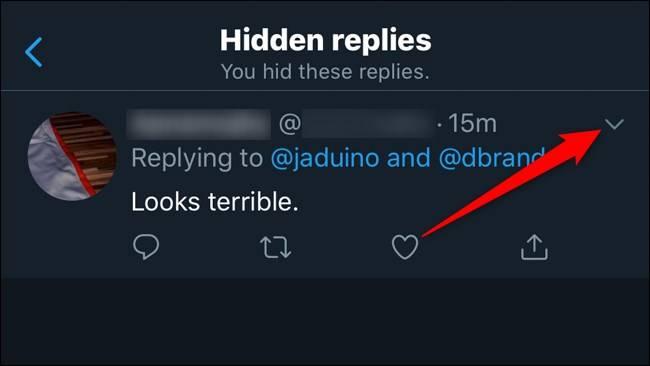 روش unhide کردن یا اَپنهان پاسخ های توییت در توییتر
