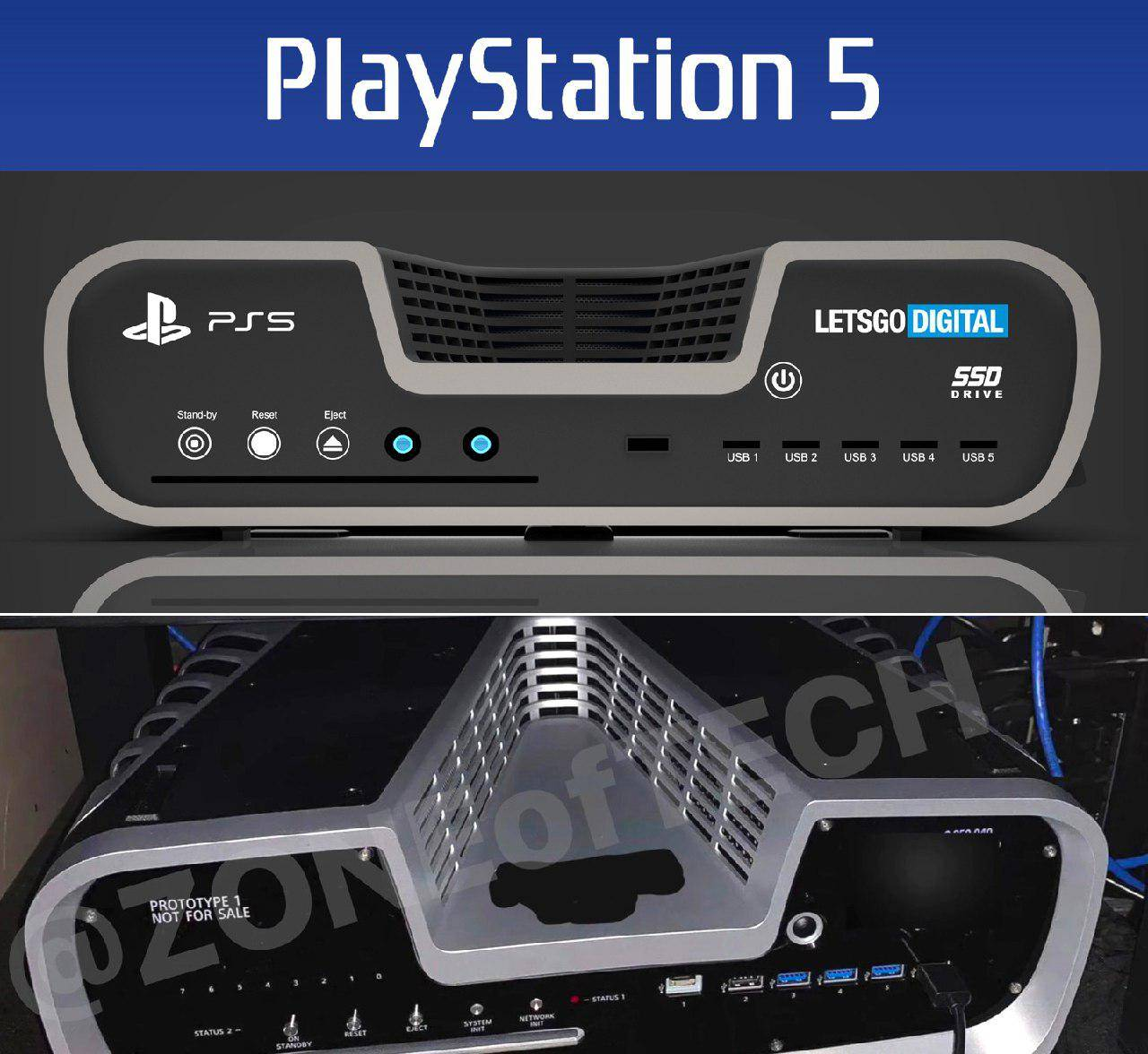 Photo of کیت کنسول PlayStation 5 فاش شد