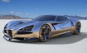 خودروی مفهومی آلفا رومئو ویژن GT و الهام از خودروی اصلی مونترال