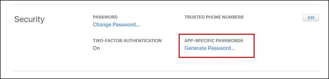 روش ایجاد رمز عبور اختصاصی برای اپلیکیشن های ایمیلی اندروید در آیکلود