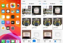 روش حذف عکس از آلبوم آیفون iOS 13