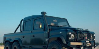 Land Rover Defenders 6 × 6