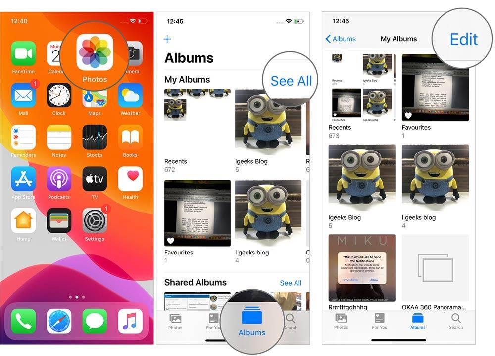 Photo of روش تغییر نام و حذف آلبوم آیفون iOS 13
