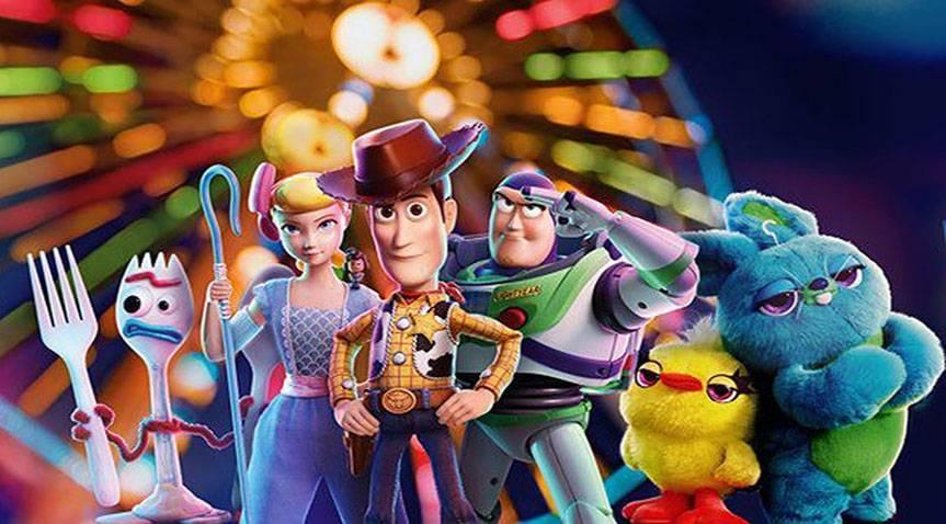 انیمیشن های برتر سال 2019 toy story 4