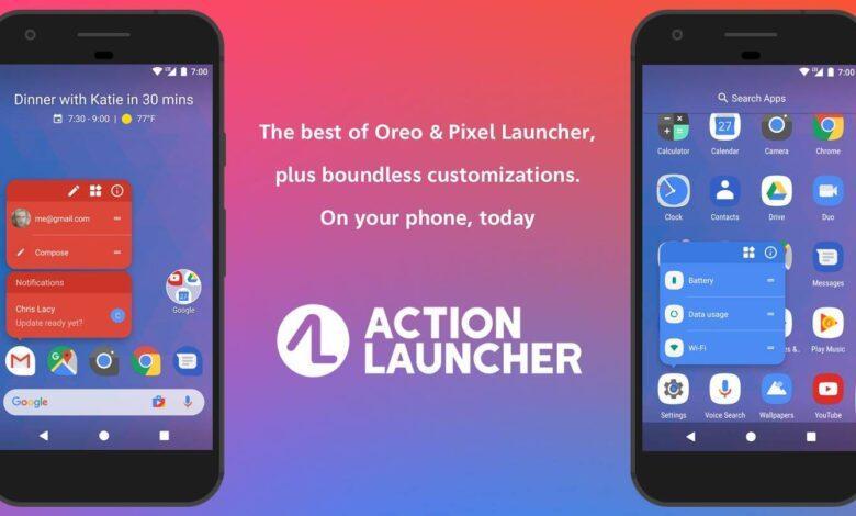 روش تغییر فونت اندروید با Action Launcher