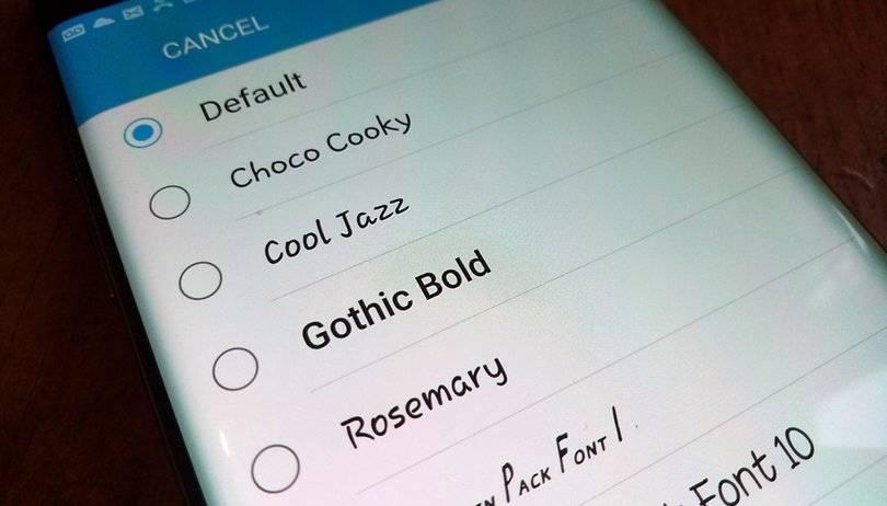 روش تغییر فونت اندروید در گوشی و تبلت